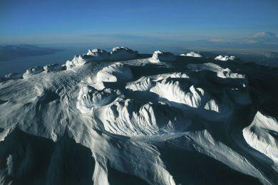 Glace sculptée, Antarctique