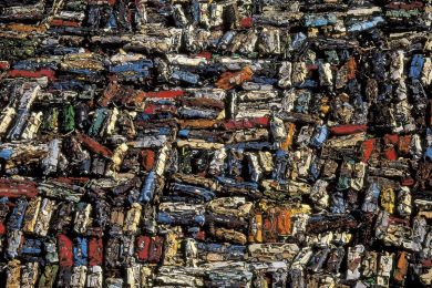 Scrap yard, Saint Brieuc, France