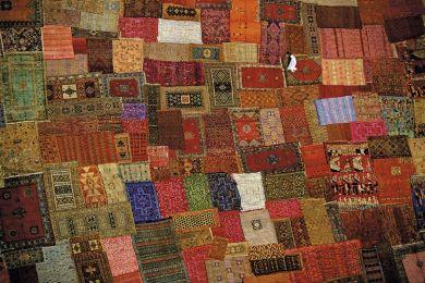 Tapis de Marrakech, Maroc