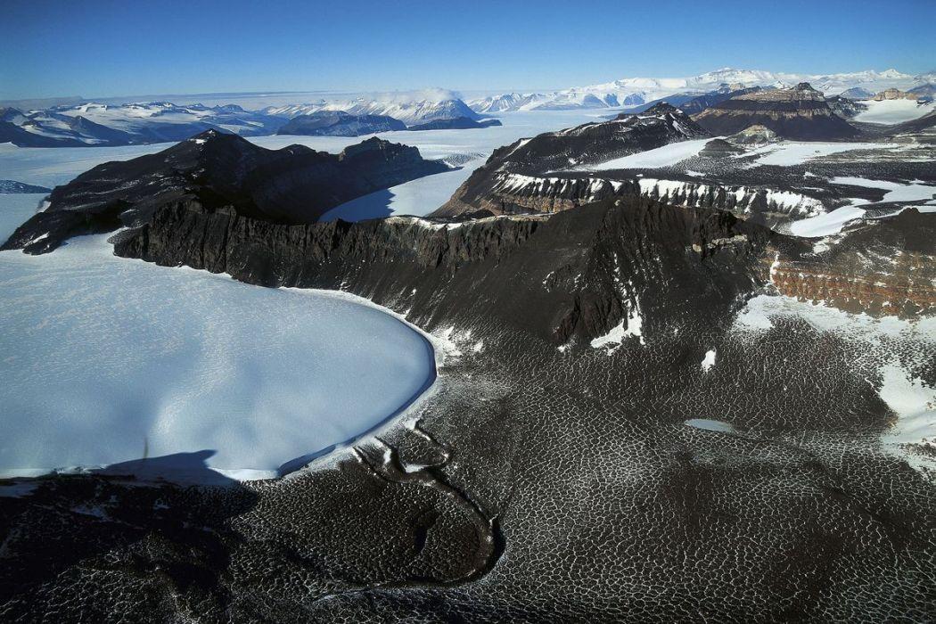 Langue du glacier Taylor, Antarctique