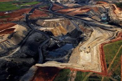 Open air coal mine, Republic of South Africa