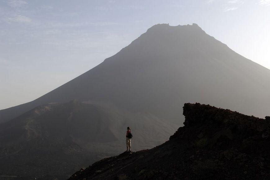 Volcan Pico, île de Fogo, Cap Vert