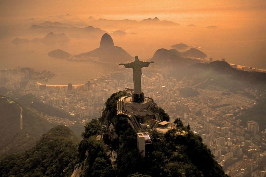 Mont Corcovado, Rio de Janeiro ,Brésil
