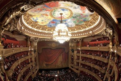 Auditorium, Garnier opera house, Paris, France