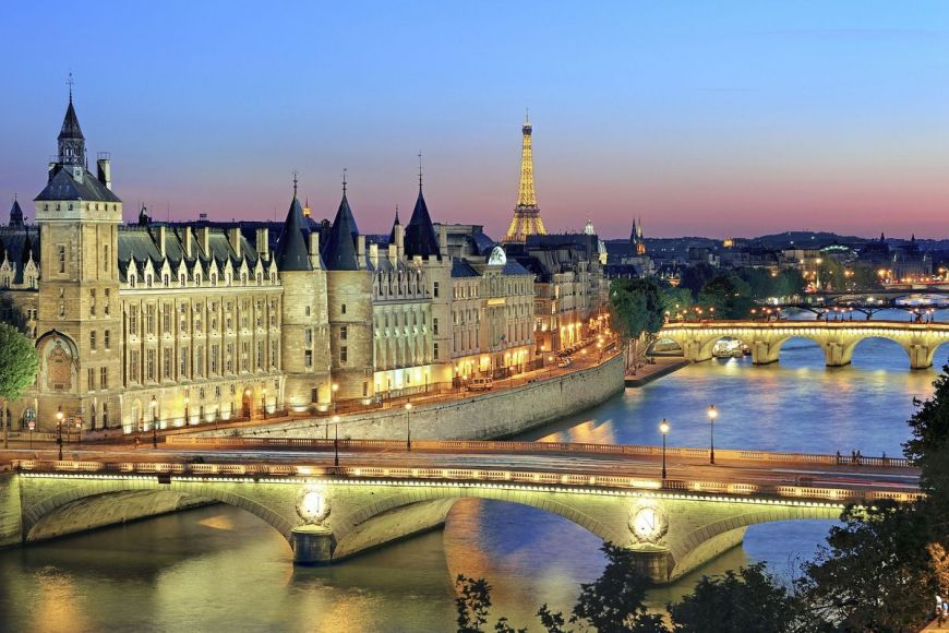 The Conciergerie on the City island, Paris, France