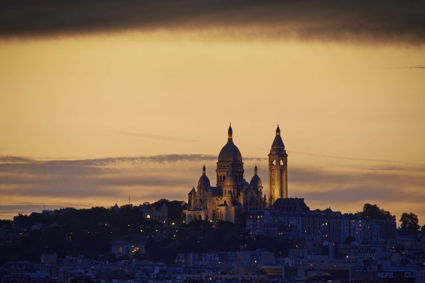 Sacre Coeur Basilica, Paris, France