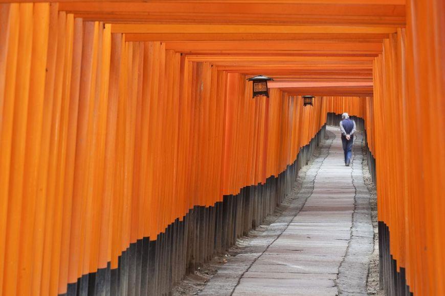 Sanctuaire, Kyoto, Japon