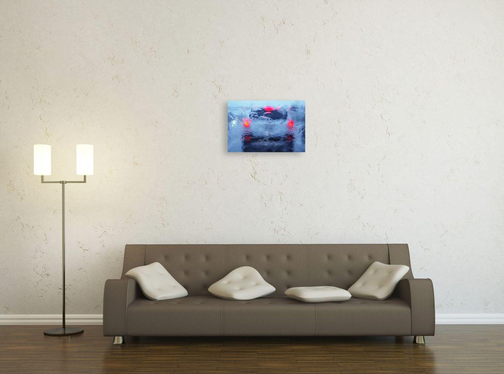 photographie d 39 art d 39 un pare brise un jour de pluie aux etats unis. Black Bedroom Furniture Sets. Home Design Ideas