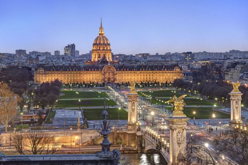 Hôtel des Invalides, Paris,France