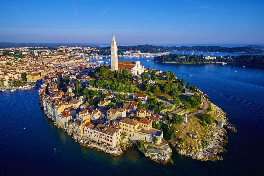 Ville et la cathédrale Sainte-Euphémie, Croatie