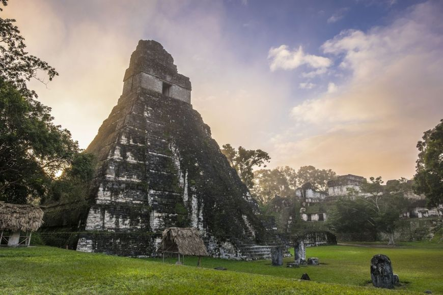 Temple du Grand Jaguar, Parc National de Tikal, Guatemala