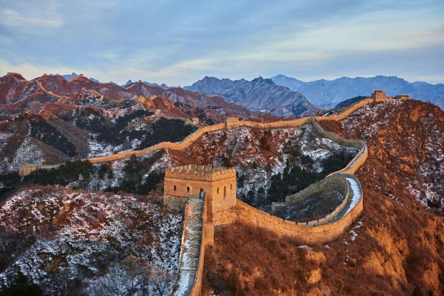 Grande muraille de Chine, province de Hebei, Chine
