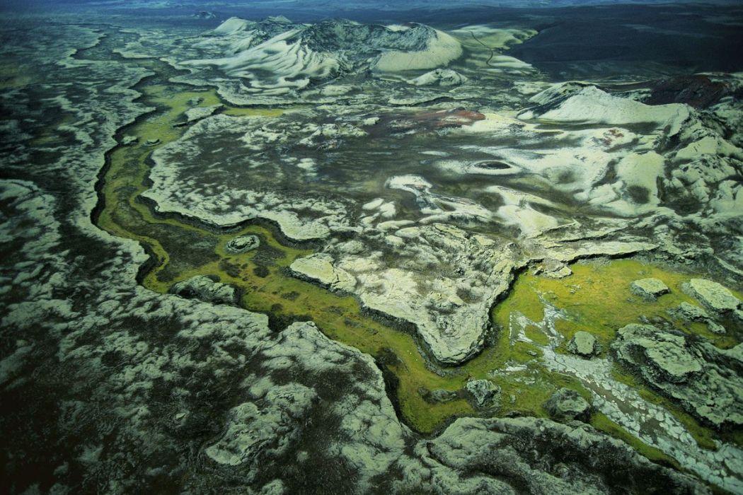 Volcans de Lakagigar, Islande