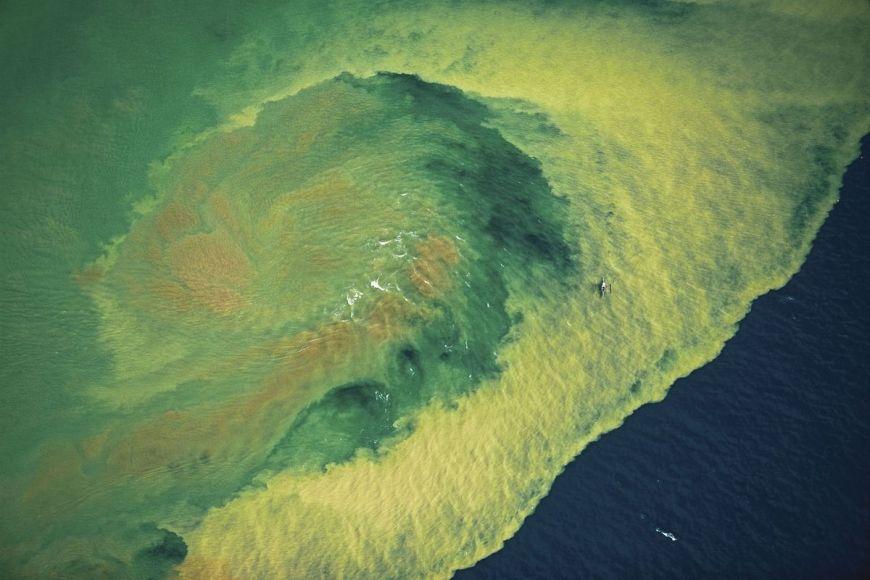 Polution, Mindanao island, Philippines