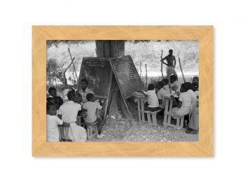 Haiti, école