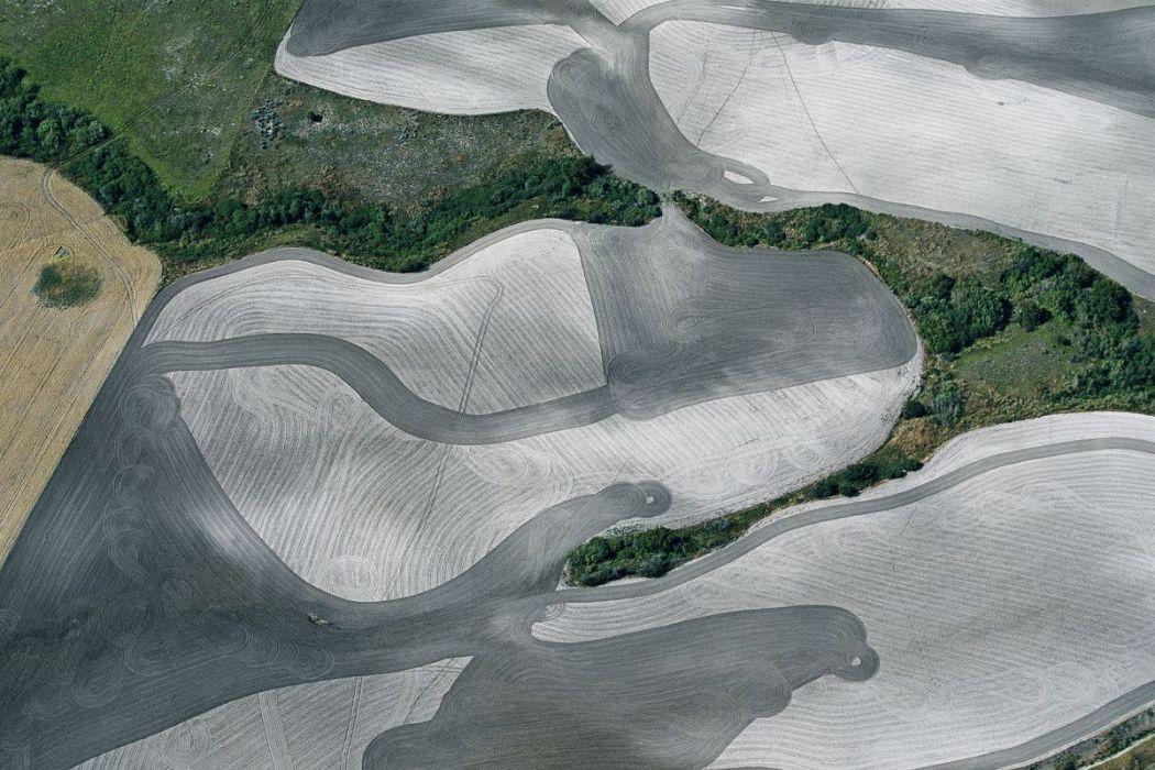 Paysage agricole, Etats-Unis