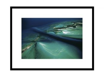 Islet and sea bed, Bahamas