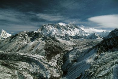 The Everest Range, Nepal