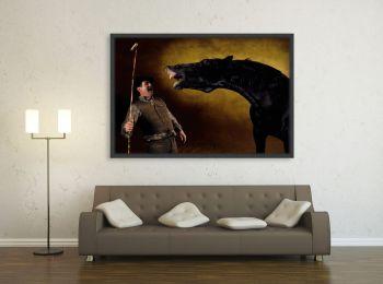 Maremmano stallion