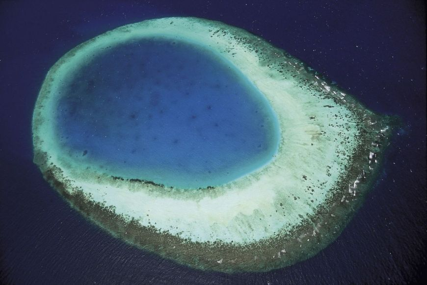 The eye of the Maldives, Maldives