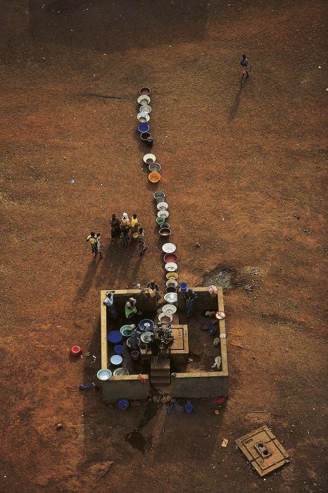 Côte d'Ivoire, forage hydraulique
