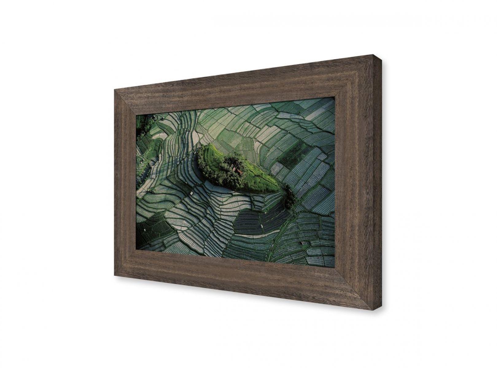 photographie d 39 art d 39 une vue a rienne de rizi res en terrasses bali. Black Bedroom Furniture Sets. Home Design Ideas